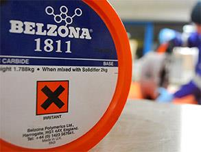 Belzona 1811 (Ceramic Carbide)