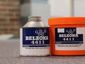 Belzona 4411 (Granogrip) packaging